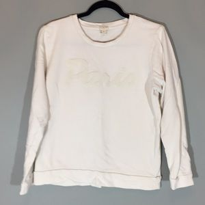 3/$25 J. Crew Paris sweatshirt